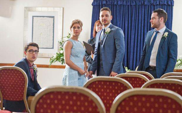 Emmerdale, Victoria and Adam get married, Thu 25 Jun
