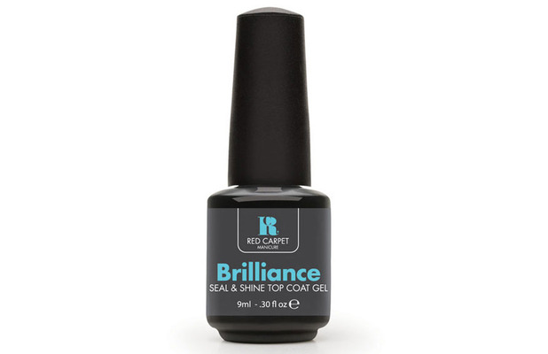 Red Carpet Manicure Cinderella Collection nail polish, topcoat in Brilliance, £12.95 25th June 2015