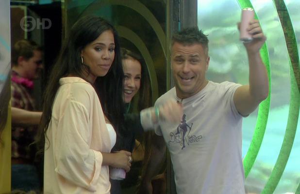 Craig Phillips returns to Big Brother for secret task - 18 June 2015.