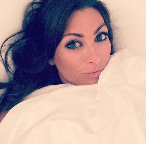 Luisa Zissman bed-time selfie, 28 May 2015