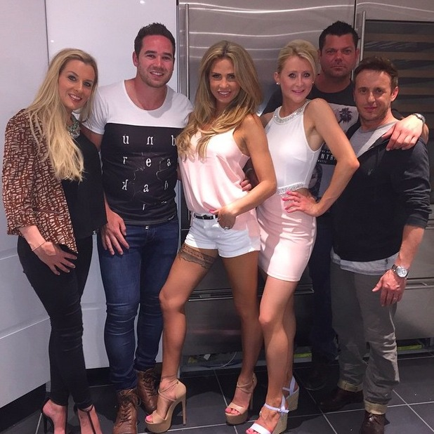 Katie Price rocks hot pants on night out in Brighton, 27 June 2015