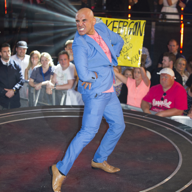 Simon Gross is the latest contestant to be evicted from the Big Brother house at Elstree Studios, 26 June 2015