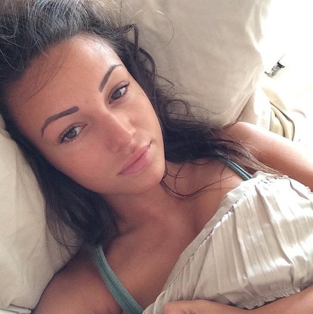 Michelle Keegan uploads no make-up selfie to Instagram 24th June 2015