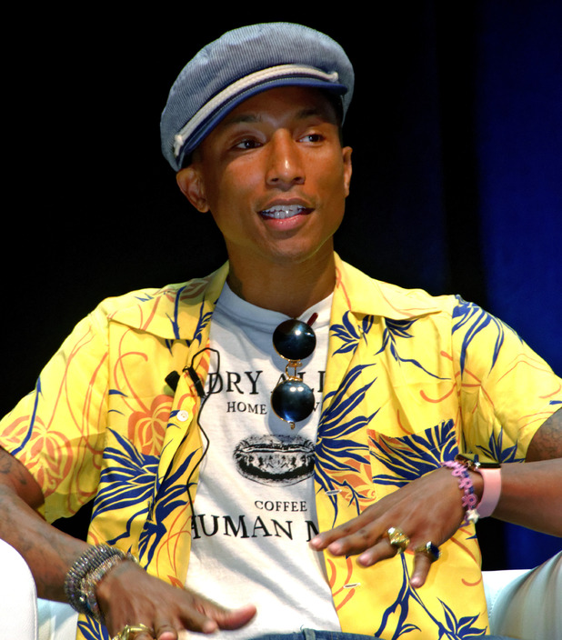 Pharrell Williams at Cannes Lions 2015 International Festival of Creativity - Day 3 - 23 June 2015.