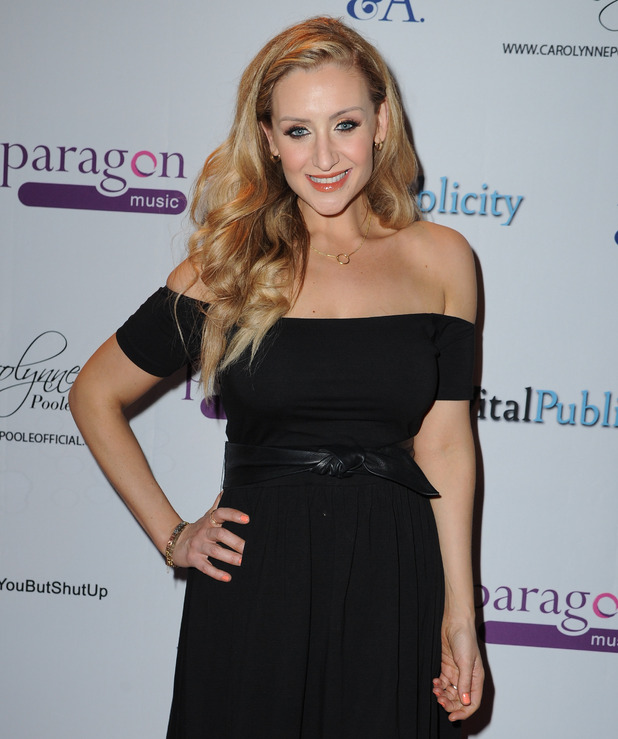 Catherine Tyldesley arrives at Gorilla Manchester for Carolynne Poole's Vip Showcase of her new album - 28 May 2015.