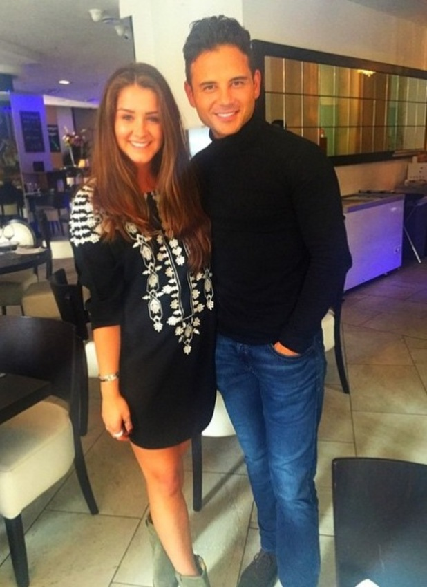 Coronation Street star RyanThomas gets special visit from Brooke Vincent on Father's Day - 21 June 2015.