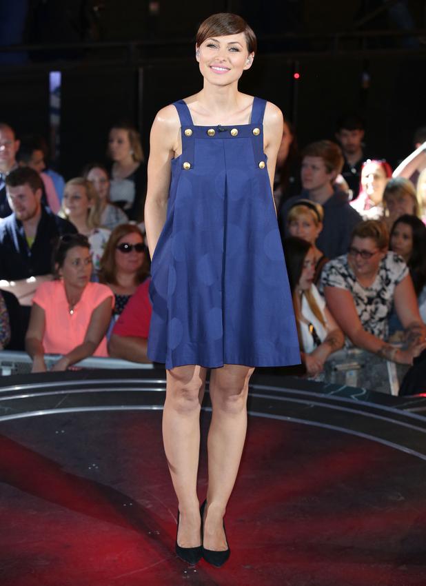 Emma Willis presents the latest Big Brother eviction at Elstree Studios, 26 June 2015