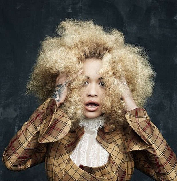Rita Ora stars in Hunger magazine photoshoot and shares pictures on Instagram 24th June 2015