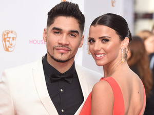Lucy Mecklenburgh & Louis Smith at the House of Fraser British Academy (BAFTA) Television Awards held at the Theatre Royal 10/05/15