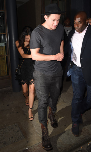Channing Tatum and wife Jenna leaving Shoreditch House private members club. 29 June 2015.