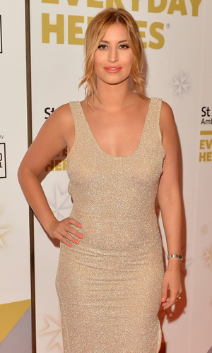 TOWIE's Ferne McCann attends the St John Ambulance's Everyday Heroes Awards, a star-studded celebration of the nation's life savers at Lancaster London Hotel on July 1, 2015 in London, England.