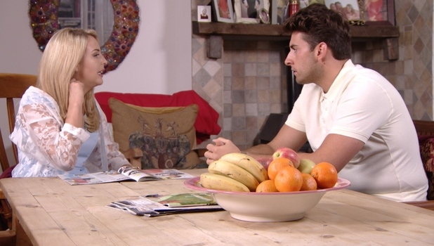 Lydia Bright and James 'Arg' Argent discuss their relationship, 5 July 2015