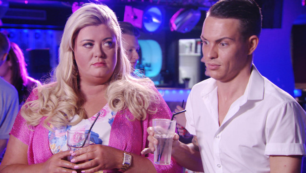 Things kick off in TOWIE between Lauren Pope, Vas J Morgan, Gemma Collins and Bobby Norris, 5 July 2015