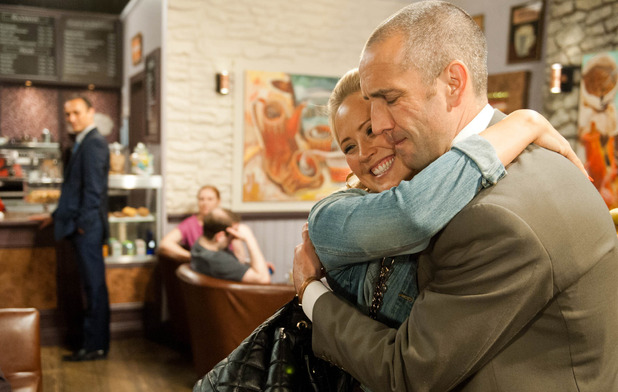Emmerdale, Tracy hugs Sam, Wed 1 Jul