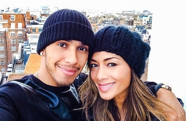 Lewis Hamilton sends heartfelt birthday message to ex-girlfriend Nicole Scherzinger by sharing an old photo of the former couple - 29 June 2015.