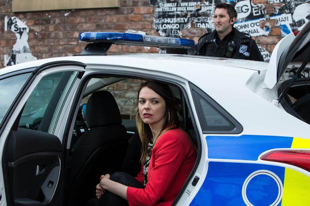 Corrie, Tracy is arrested, Fri 3 Jul