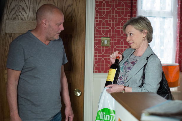 EastEnders, Carol gets drunk with Buster, Tue 30 Jun