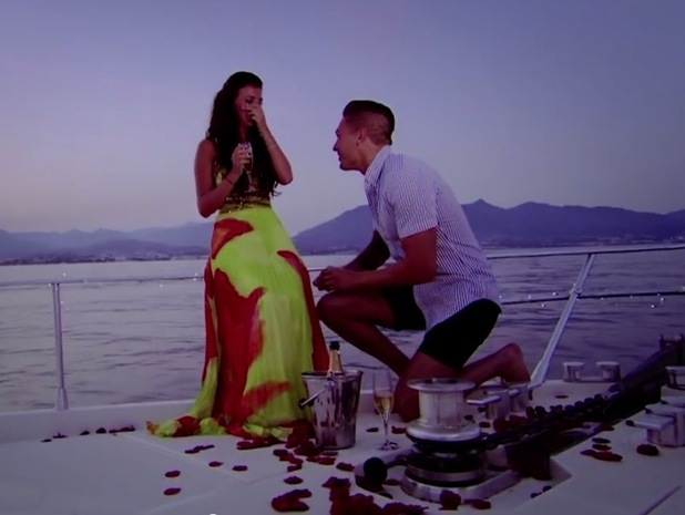 Mario Falcone proposes to Lucy Mecklenburgh, TOWIE