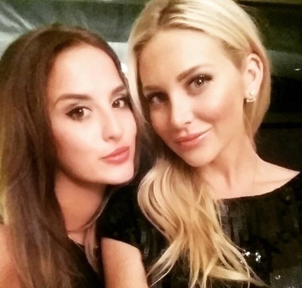 Stephanie Pratt and Lucy Watson in LA 29 June