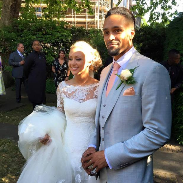 Ashley Banjo marries dancer Francesca Abbott, 4 July 2015