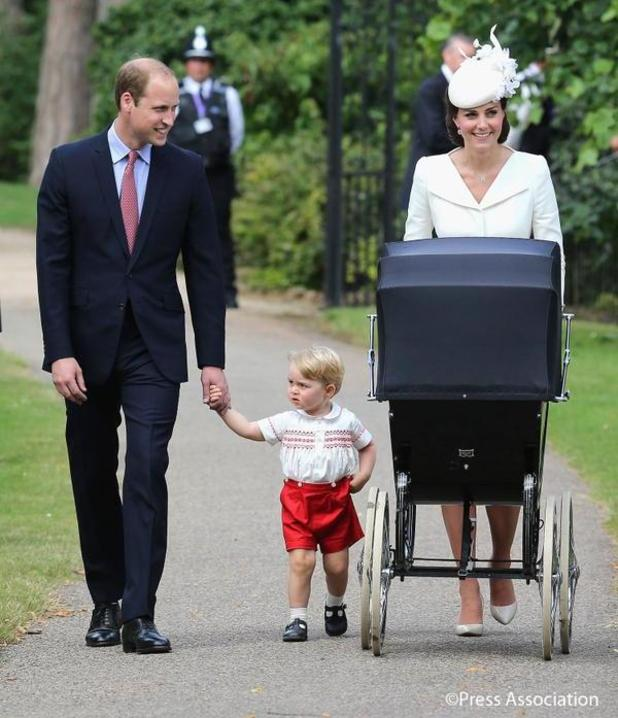 Pictures from Princess Charlotte's christening, 5 July 2015