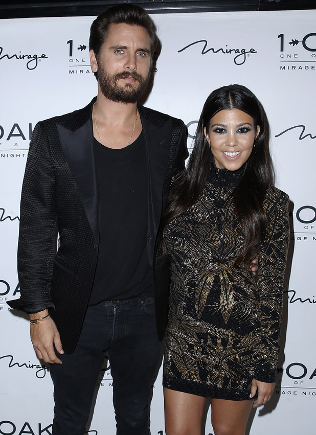 Scott Disick celebrates his Birthday at 1 OAK Nightclub inside the Mirage Hotel and Casino Las Vegas with Kourtney Kardashian 23/05/15