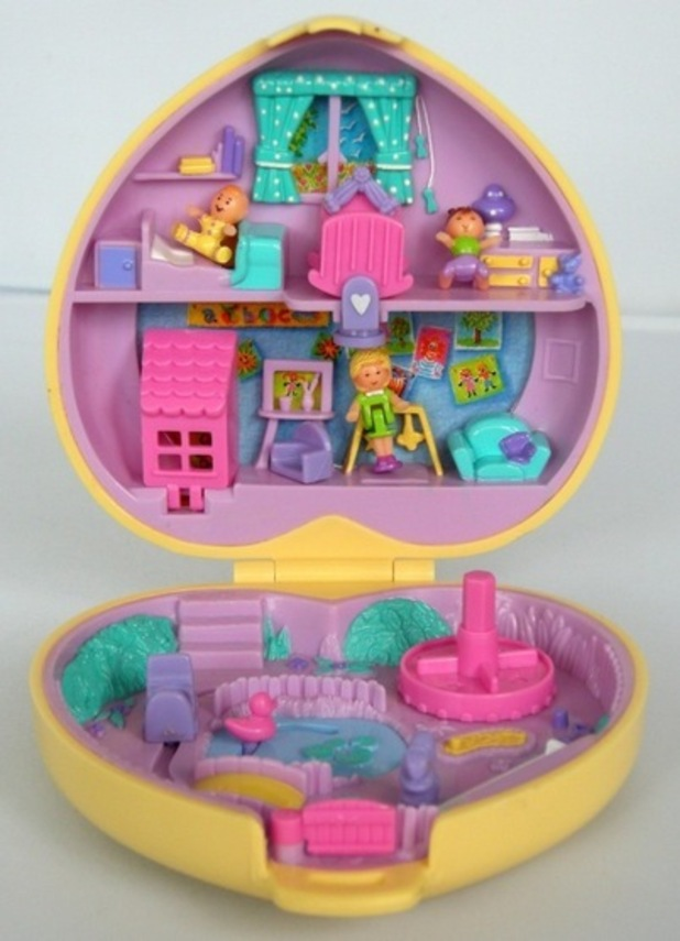 Pollypocket, Childhood toys from the 90s