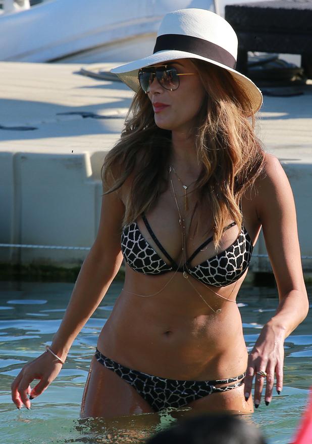 Bikini boob slips