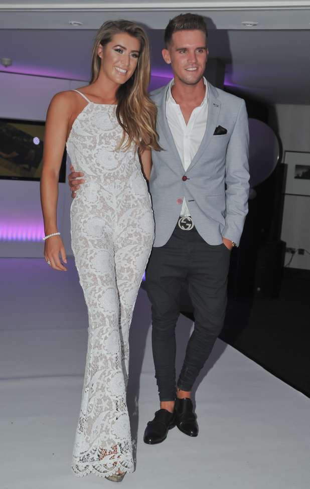 Gary Beadle and Lillie Lexie Gregg at her launch of Lily Beau, Birmingham 2 July