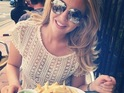 Lydia Bright and James Arg Argent day date in Brighton, Instagram 1 July
