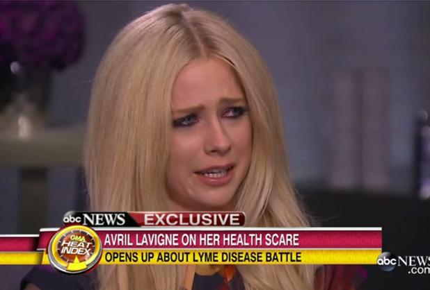 Avril Lavigne for ABC News, 29 June 2015