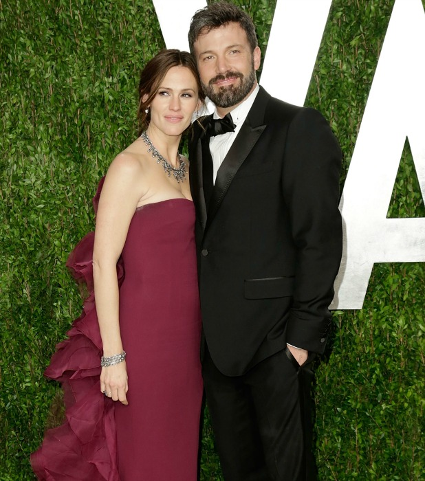 Ben Affleck, Jennifer Garner 2013 Vanity Fair Oscar Party at Sunset Tower