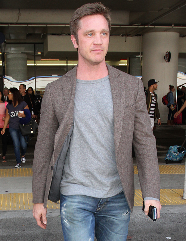 Devon Sawa is seen at LAX on April 02, 2015 in Los Angeles, California. (Photo by GVK/Bauer-Griffin/GC Images)
