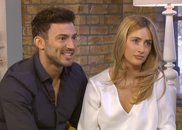 Danielle Fogarty and Jake Quickenden on This Morning 3 July 2015