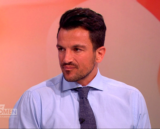 Peter Andre promoting his work with Nordoff-Robbins music therapy, on 'Loose Women'. Broadcast on ITV1 HD.