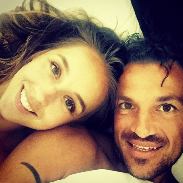 Peter Andre and Emily MacDonagh Instagram, 1 July 2015