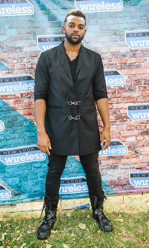 Oritsé Williams attends Day 2 of the New Look Wireless Festival at Finsbury Park on July 3, 2015 in London, England.