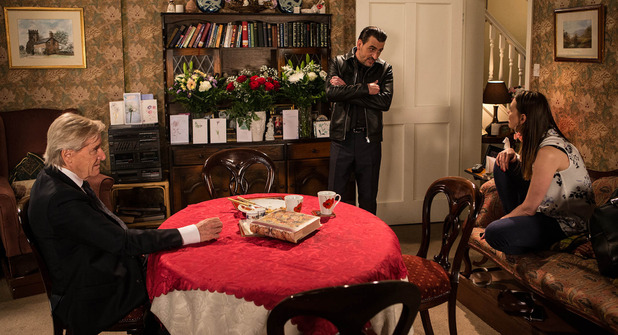 Corrie, Peter returns to a row, Wed 15 Jul