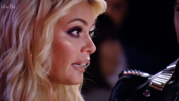 TOWIE's Chloe Sims warns Bobby Norris not to hang around with Vas and Lauren - 8 July 2015.