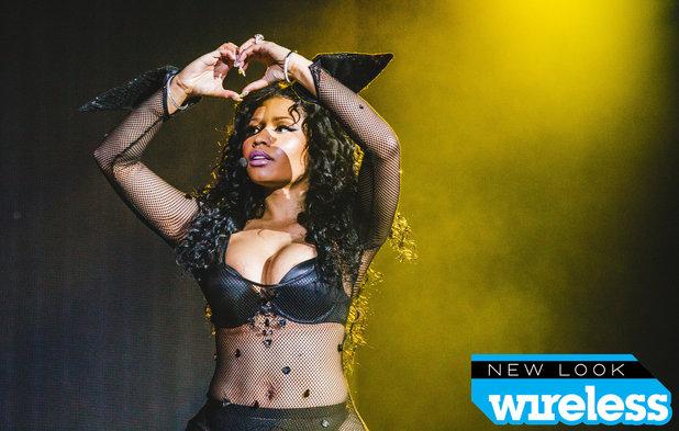 Nicki Minaj performing at the New Look Wireless Festival - 5 July 2015.