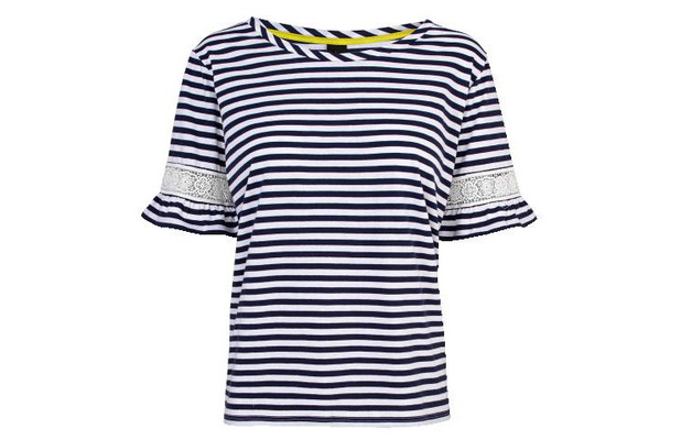 Gok Wan for TU at Sainsbury's Summer Collection striped top £18 7th July 2015