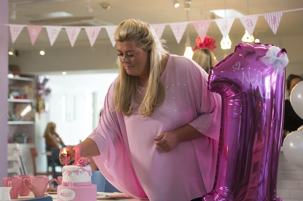 The Only Way is Essex cast filming - Gemma Collins arrives for Nelly's birthday party  - 7 Jul 2015