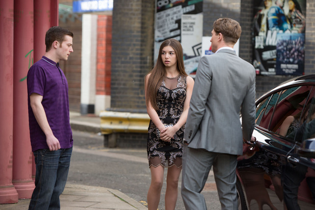 EastEnders, Cindy gets into a car with strangers, Mon 13 Jul