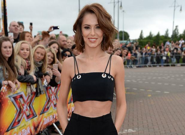 Cheryl Fernandez-Versini arrives for The X Factor audition, Manchester 8 July