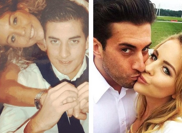 Lydia Bright and James Arg Argent mark seven year anniversary 5 July