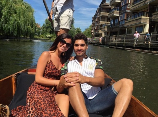 Lucy Mecklenburgh and Louis Smith, Cambridge 4 July