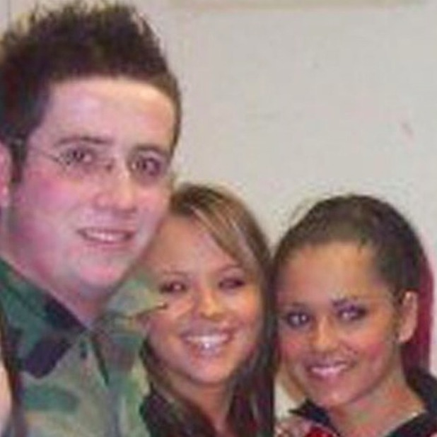 Cheryl Fernandez-Versini and Nick Grimshaw in hilarious flashback photo from 2003.