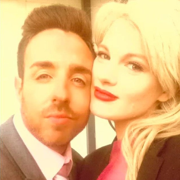 Stevi Ritchie and Chloe-Jasmine Whichello look loved-up, 2015.