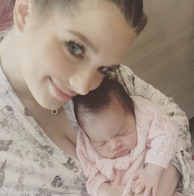 Brooke Vincent Blog - Helen Flanagan and baby Matilda 9 July