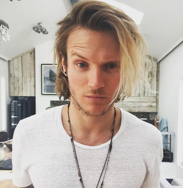 Dougie Poynter cuts his hair to a shorter style, 7th July 2015
